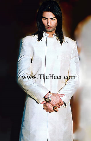 SW837 Off White Sherwani Mens Manufacturersexporters Of Indian Pakistani Wedding Suppliers Bright Shades