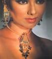 EJ407 Multi Color Gemstone Evening Jewellery