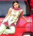 CW418 Pale Green Raw Silk Shalwar Kameez