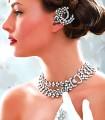 JW552 White Cubic Diamond Like Jewellery