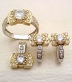JW725 Gold white Jewellery
